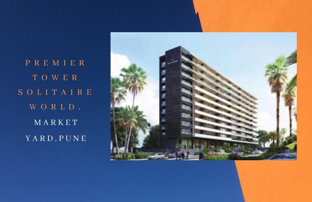 Premier Tower Solitaire World,Market yard, Pune